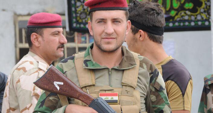 Haşdi Şabi üyesi Kürt Savaşçı Hayat Kazım