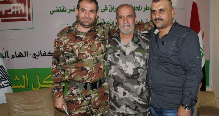 Haşdi Şabi'de Arap, Kürt ve Türkmen savaşçılar Işid'e karşı beraber savaşıyor