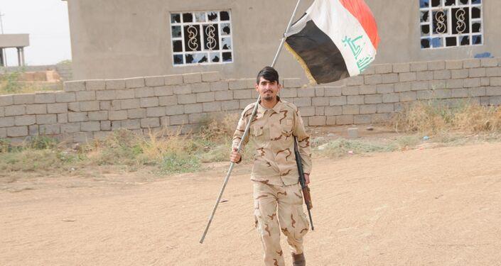 Haşdi Şabi Üyesi Kürt savaşçı