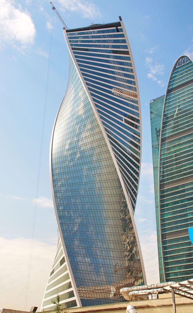 Rusya'nın başkenti Moskova'daki Evolution Tower
