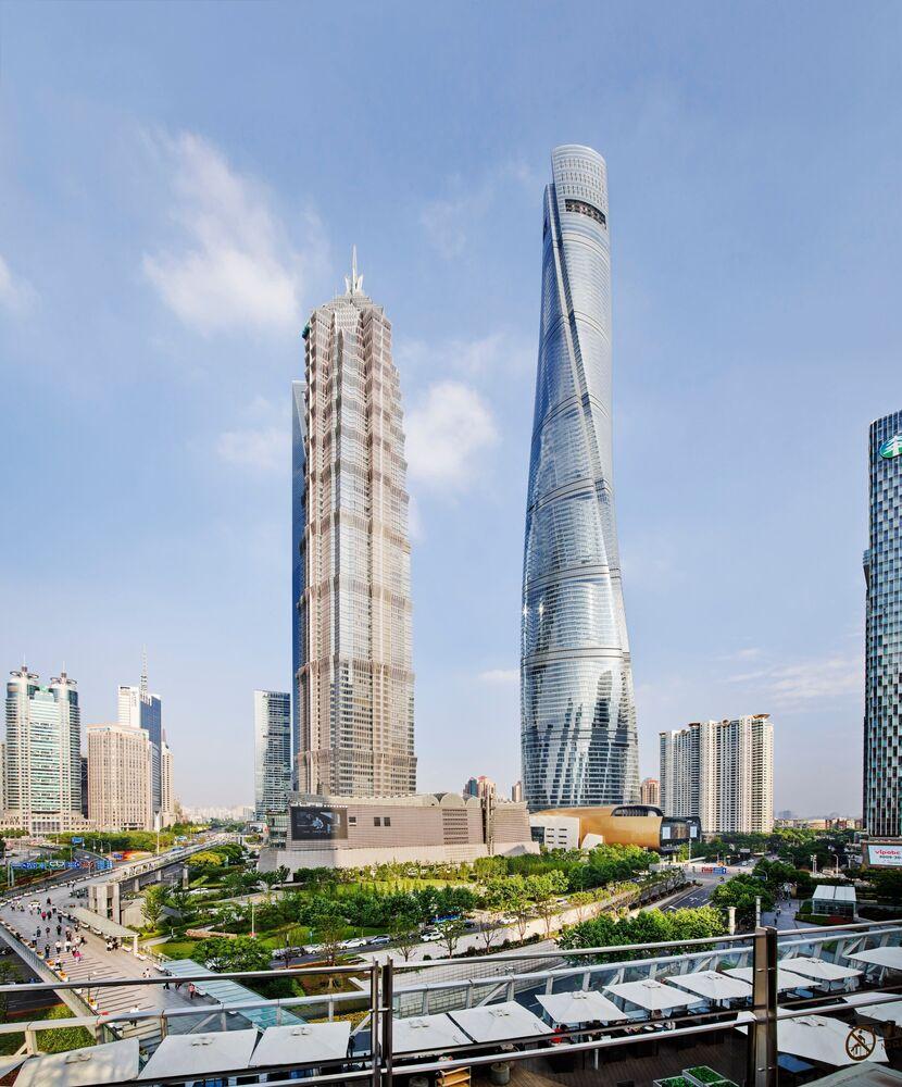 Çin'deki Shanghai Tower