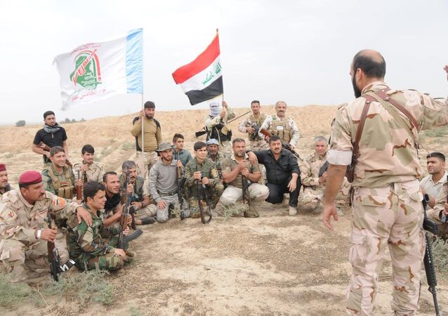 Haşdi Şabi, Musul operasyonunda savaşıyor