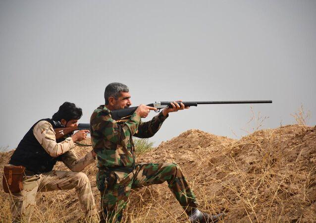 Haşdi Şabi, Musul operasyonunda