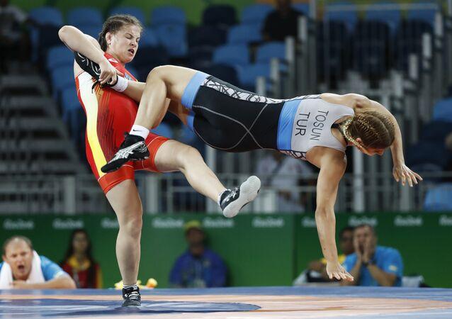 Türkiye / Kadın güreşçiler