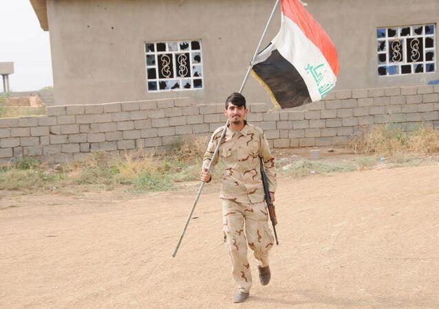 Haşdi Şabi askeri Musul'da