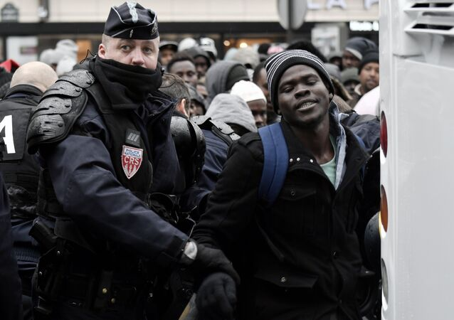 Paris- sığınmacı