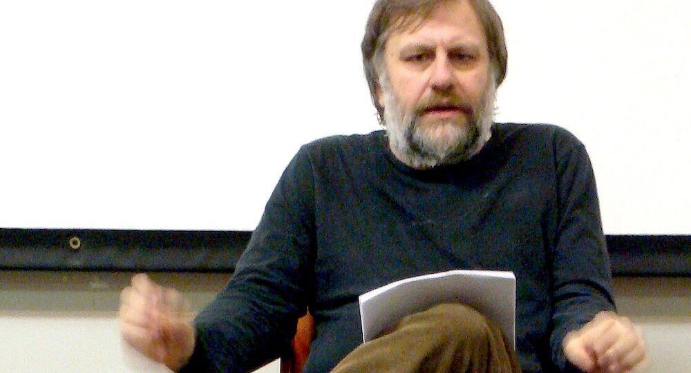 Slovenyalı filozof Slovaj Zizek