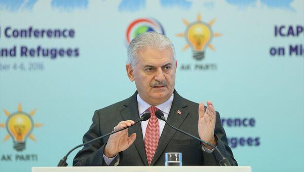 binali yıldırım, Asya ülkeleri siyasi partiler uluslararası konferansında konuştu - Sputnik Türkiye
