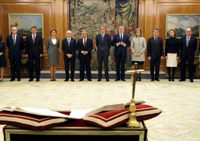 İspanya kabinesi