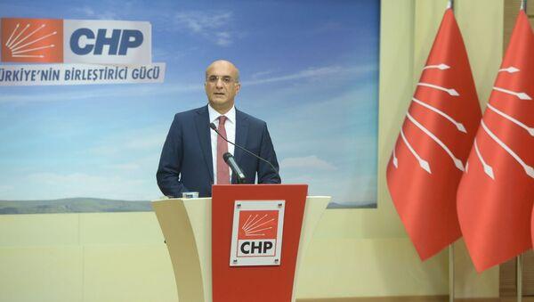 CHP Genel Başkan Yardımcısı Tekin Bingöl - Sputnik Türkiye
