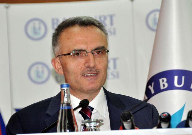 Maliye Bakanı Naci Ağbal, Bayburt Üniversitesi'nin akademik yıl açılış töreninde konuştu