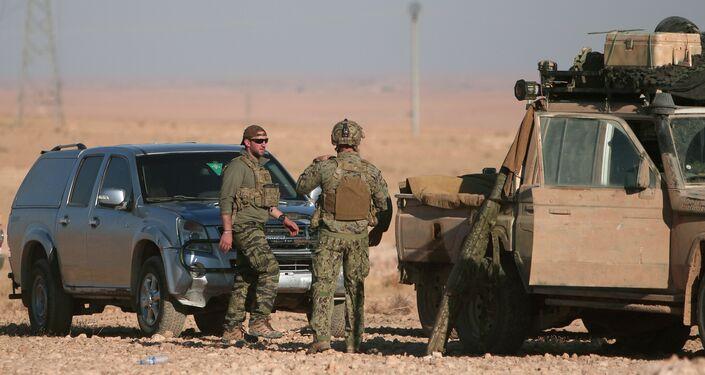 Reuters, Rakka operasyonuna katılan ABD askerlerini görüntüledi.
