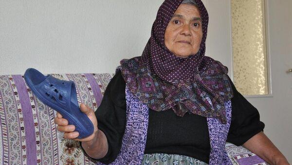 Annenin oğluna fırlattığı terlik 'silah' sayıldı - Sputnik Türkiye