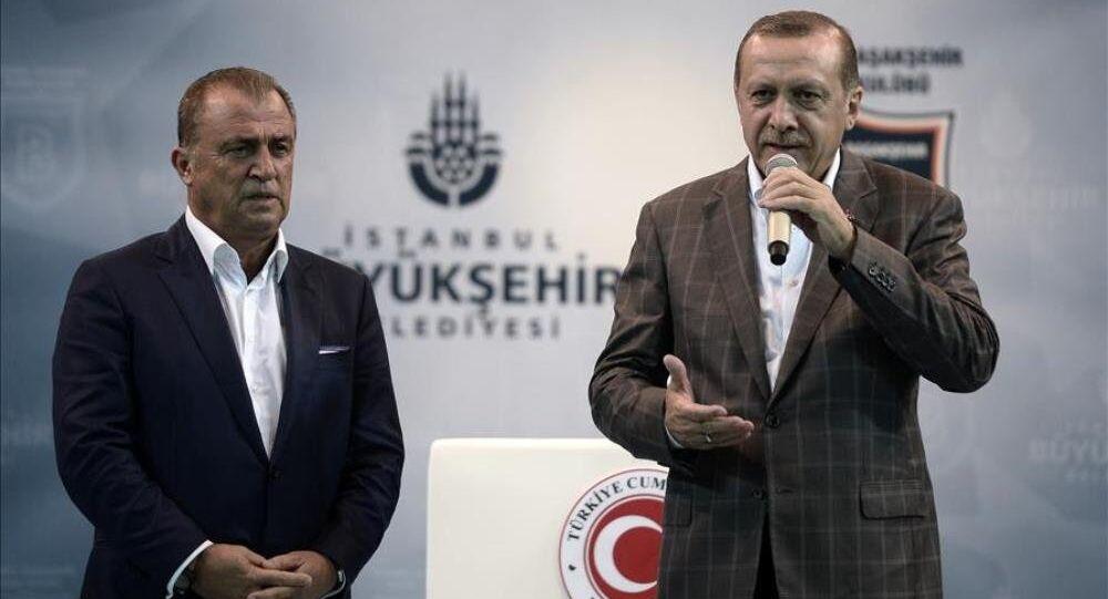 Fatih Terim - Recep Tayyip Erdoğan