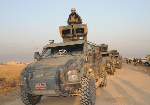 Musul'daki Başika kasabası, Peşmerge güçleri tarafından IŞİD'den kurtarıldı