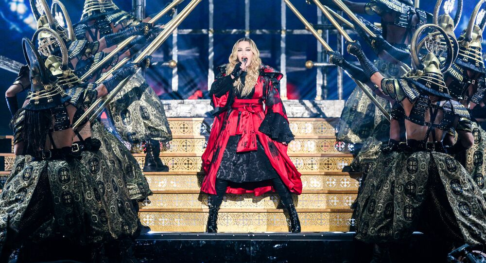 Madonna, cantante estadounidense