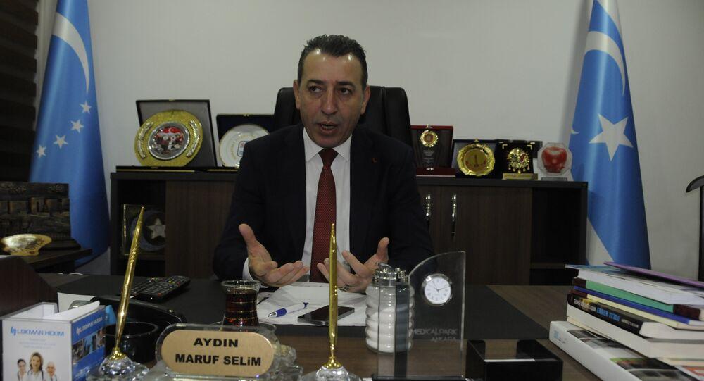 Irak Türkmen Cephesi Erbil sorumlusu Aydın Maruf