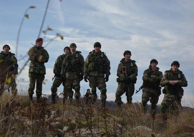 Sırbistan_Askeri tatbikat