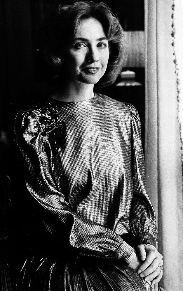 Arkansas'ın First Lady'si Hillary Clinton, 1985.