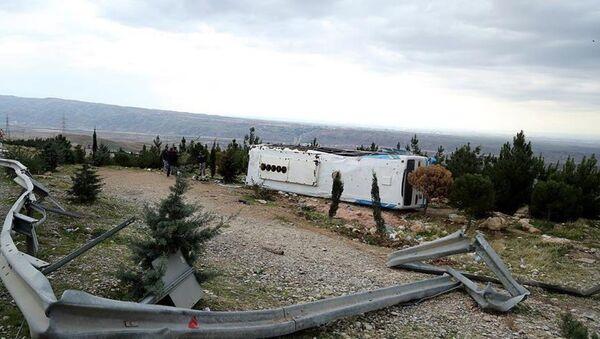 İran'da otobüs kazası - Sputnik Türkiye