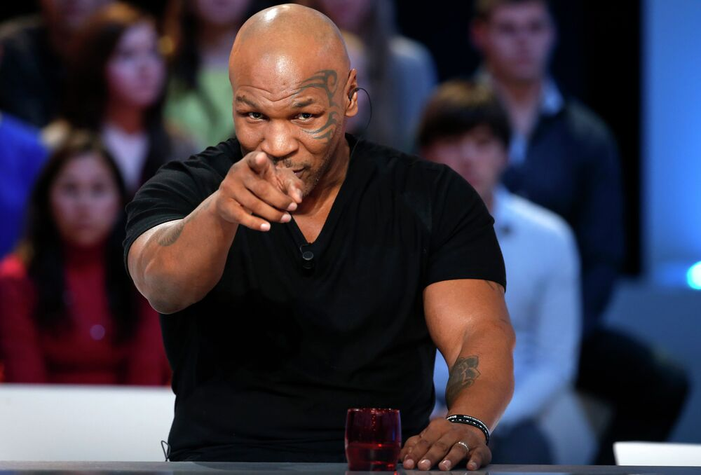 ABD'li eski boksör Mike Tyson