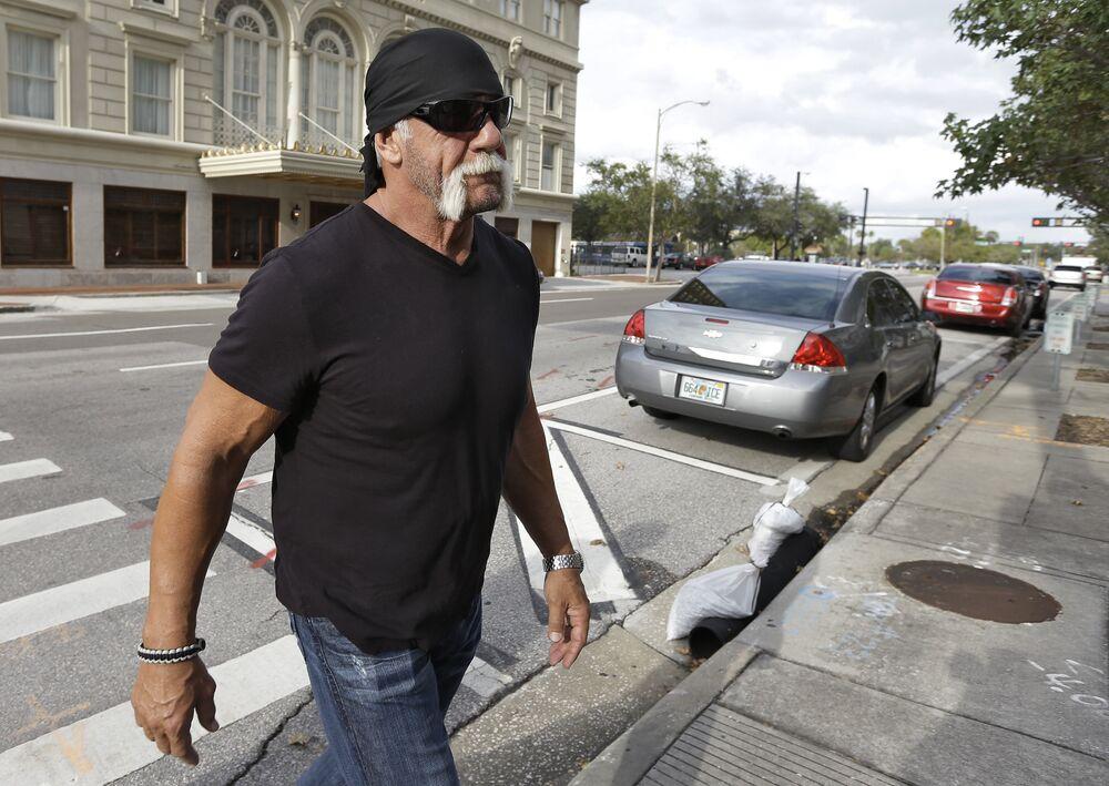 Eski güreşçi ve reality show yıldızı Hulk Hogan