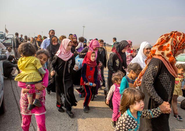 Çadıkente yerleştirilen Iraklı Kürt Şebekler