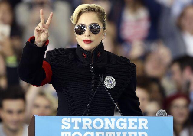 ABD'li şarkıcı Lady Gaga