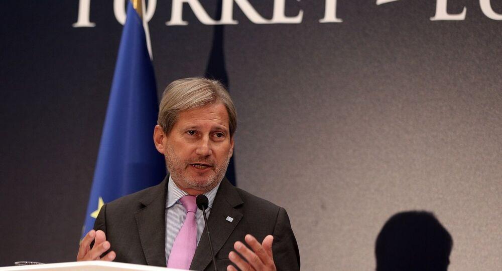 Genişlemeden sorumlu Avrupa Komisyonu üyesi Johannes Hahn