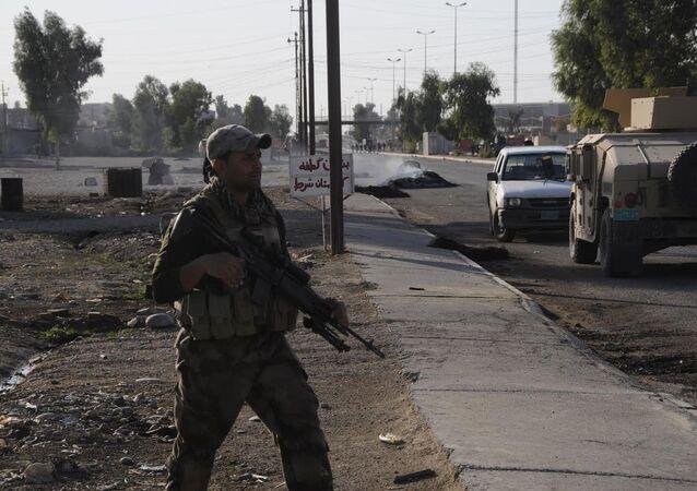 Irak ordusu askeri