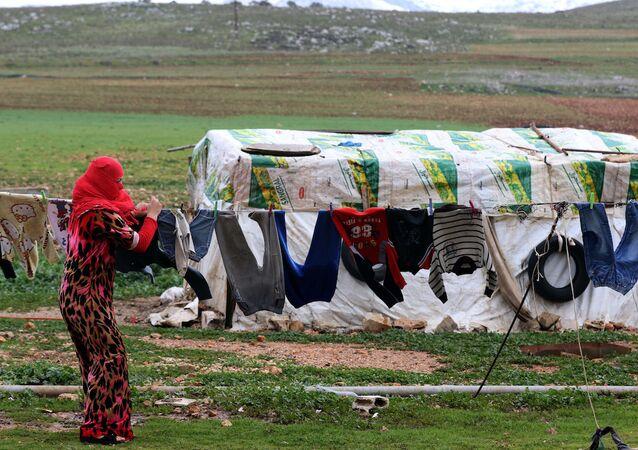 Lübnan'daki Suriyeli sığınmacılar