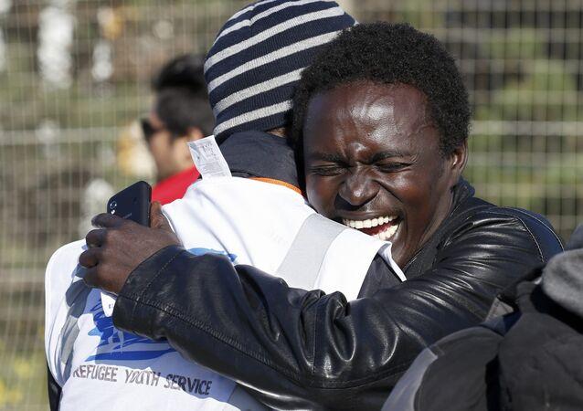 Afrikalı sığınmacılar