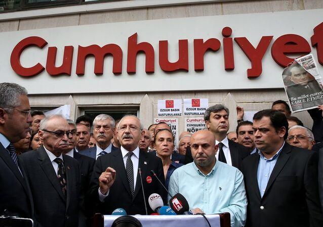 CHP Genel Başkanı Kemal Kılıçdaroğlu'nun Cumhuriyet ziyareti