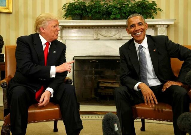 Donald Trump - Barack Obama