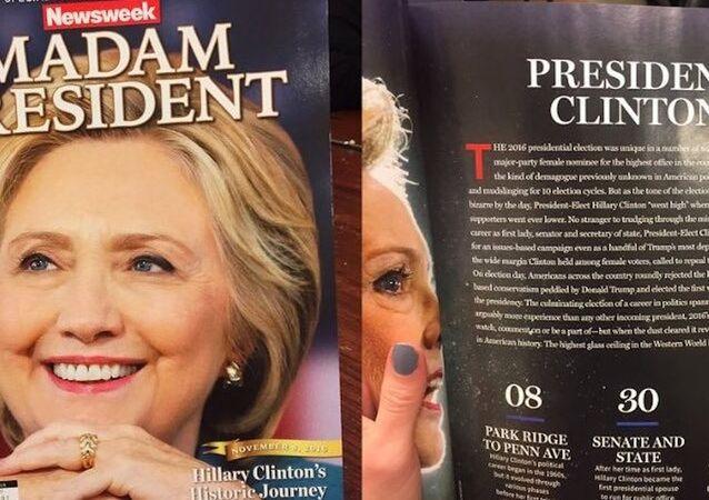 Newsweek'ten 'Madam President' kapağı