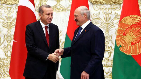 Türkiye Cumhurbaşkanı Recep Tayyip Erdoğan, Belarus Devlet Başkanı Aleksandr Lukaşenko - Sputnik Türkiye