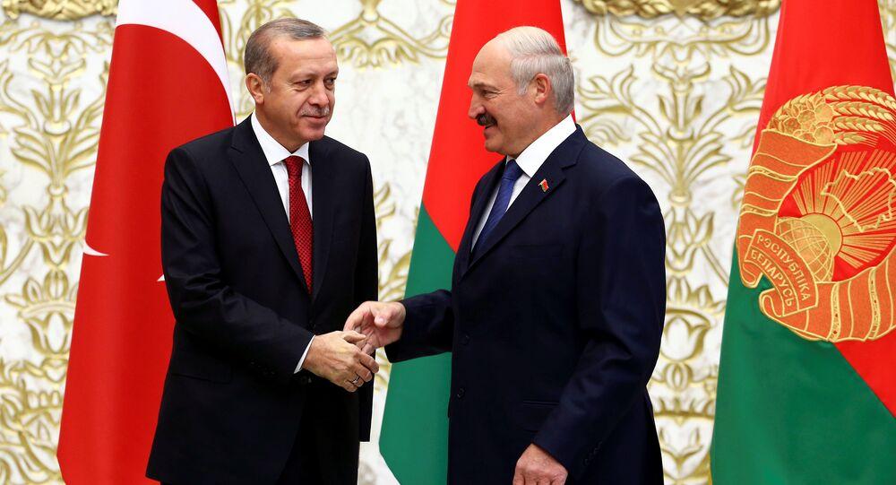 Türkiye Cumhurbaşkanı Recep Tayyip Erdoğan, Belarus Devlet Başkanı Aleksandr Lukaşenko
