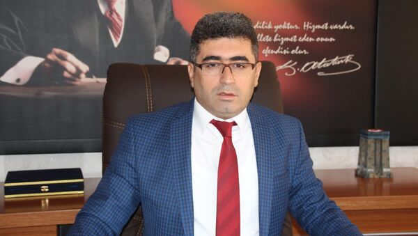 Varto'ya kayyum olarak atanan Kaymakam Mehmet Nuri Çetin - Sputnik Türkiye