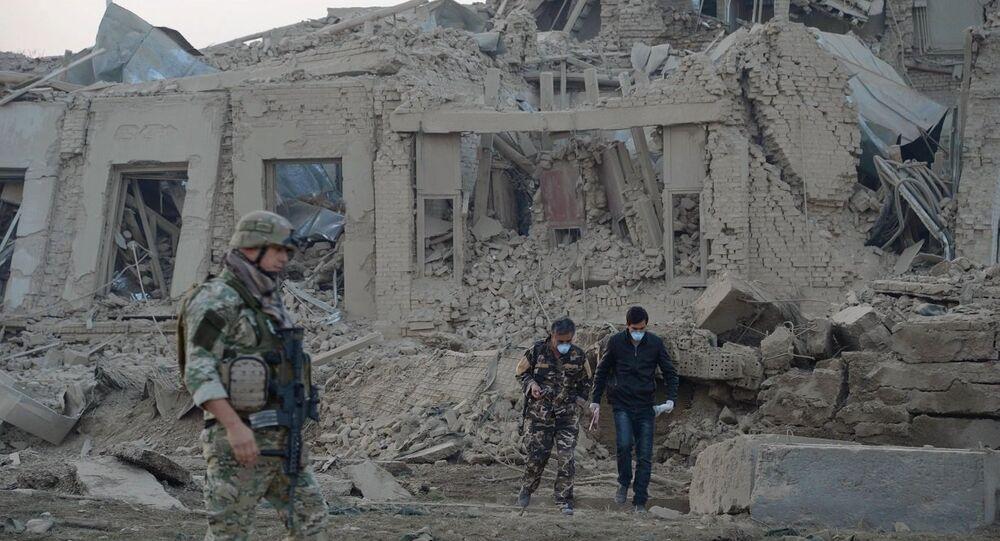 Afganistan'daki Alman Başkonsolosluğu yakınındaki patlama sonrası