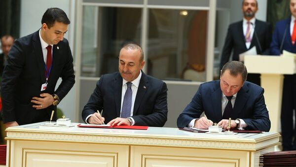 Türkiye ve Belarus arasında imzalanan anlaşmalar - Sputnik Türkiye
