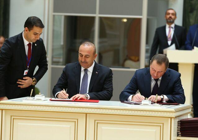Türkiye ve Belarus arasında imzalanan anlaşmalar