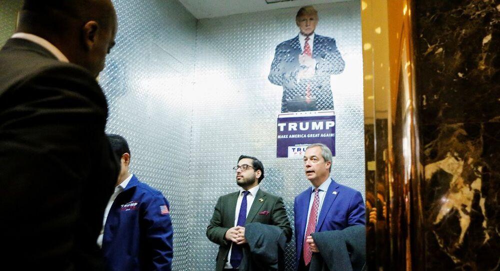Nigel Farage - Donald Trump