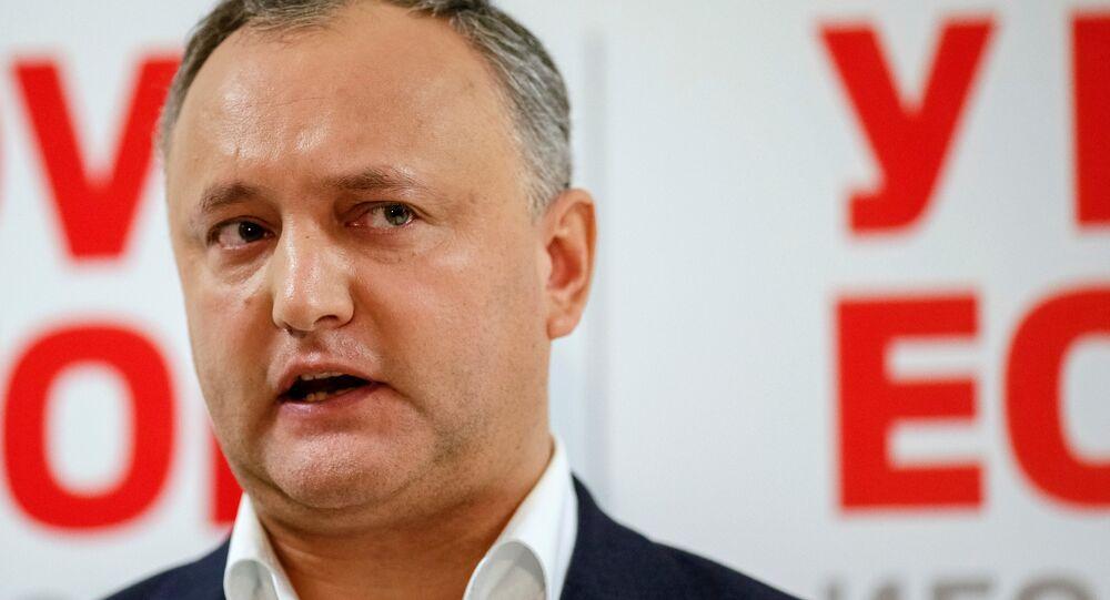 Moldova Devlet Başkanı İgor Dodon