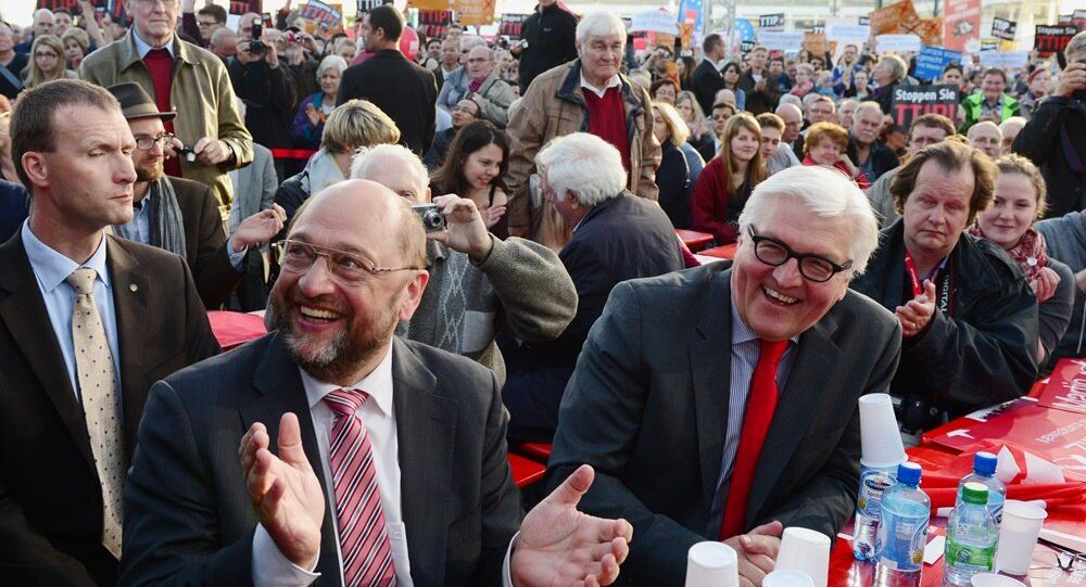 Martin Schulz - Frank-Walter Steinmeier