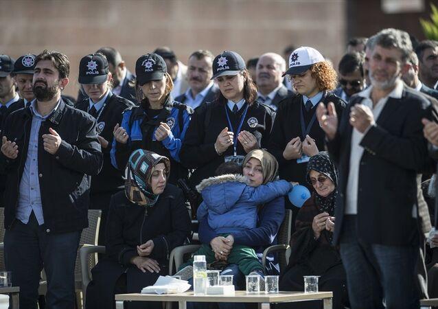 Derik Kaymakamı Fatih Safitürk'ün cenazesi - Yazı İşleri Müdürü T.E.