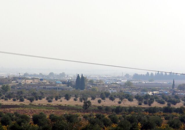 Azez'deki Esselame sınır kapısı