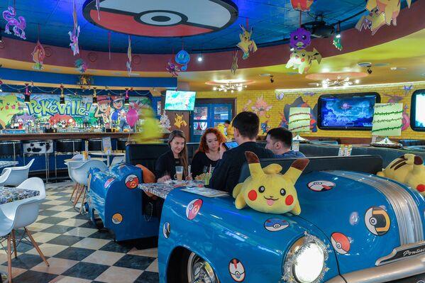 Moskova'da Pokemon temalı kafe açıldı. - Sputnik Türkiye