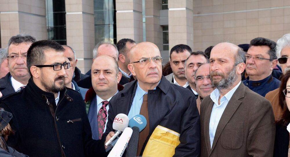 CHP Milletvekili Enis Berberoğlu ilk kez hakim karşısına çıktı