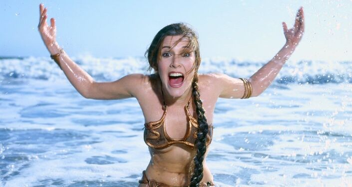 Carrie Fisher (1983)