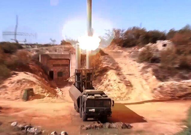 Bastion kıyı füze sistemleri, Suriye'deki kara hedeflerini imha etmek için ilk kez kullanıldı.
